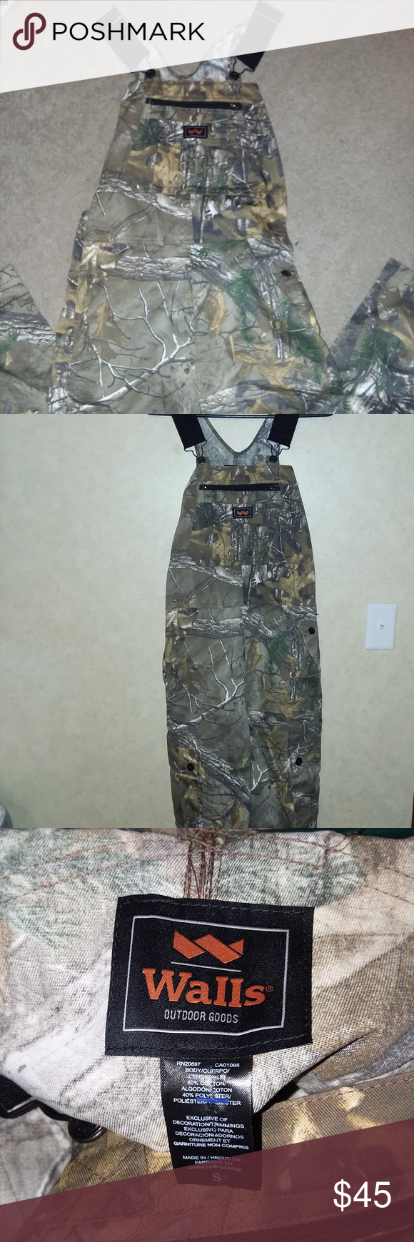 walls realtree non insulated bibs realtree clothes on walls camouflage insulated coveralls id=61276