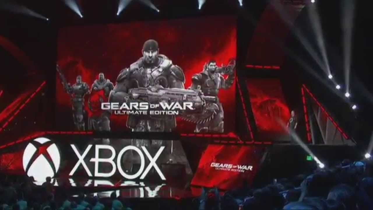 Microsoft S Xbox One E3 2015 Press Conference Gears Of War Xbox