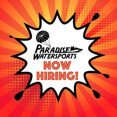 Ocjobs Paradise Watersports Now Hiring Oceancitycool Oc Jobs
