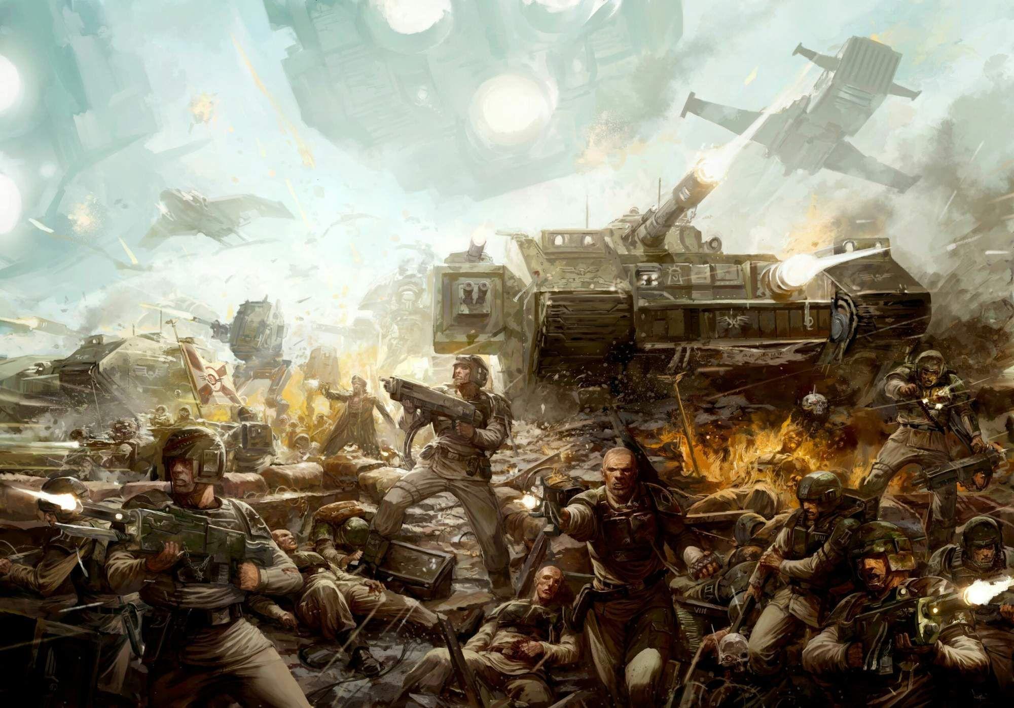 Imperial Guard - Warhammer 40k - Astra Militarum - Cadian ...