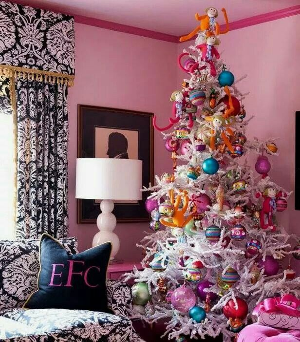 Whimsical Christmas Trees Ideas: Pin By Monica Mitchell On ^∇^ HⓄlidays ^∇^