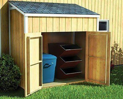 Lean To Shed Plans   Blueprints For Making a Small Shed. 4x6 lean to shed jpg   Sheds   Pinterest   Workshop storage and