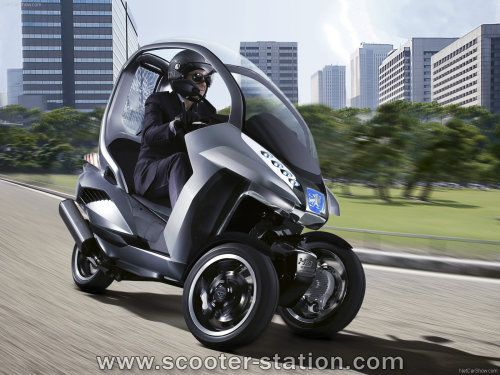 peugeot hymotion3 concept ou avant projet d 39 un scooter. Black Bedroom Furniture Sets. Home Design Ideas