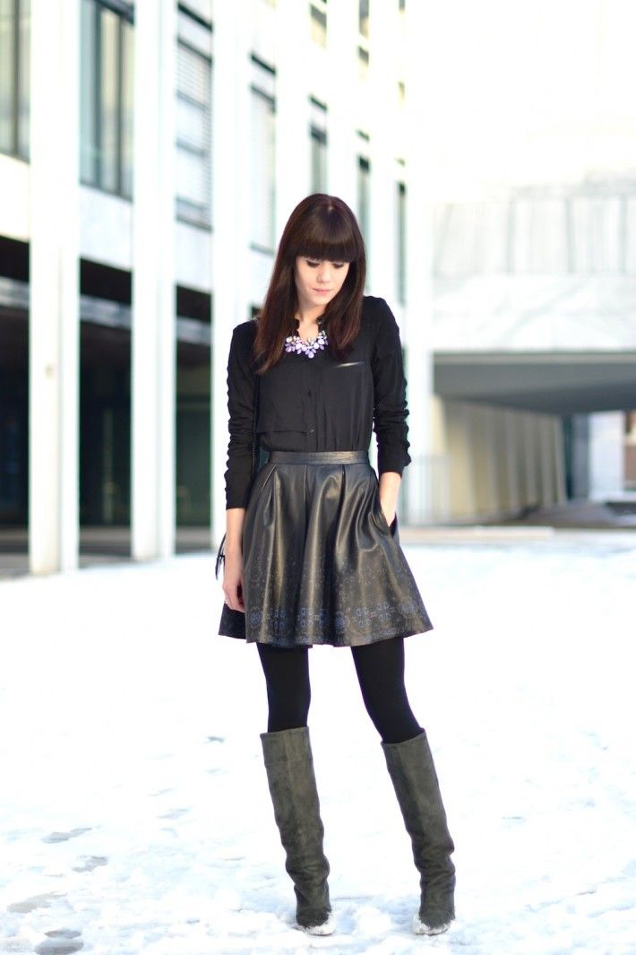 Lucy de Boer: Electro-Urban Fashion Style | Full skirts and Isabel ...