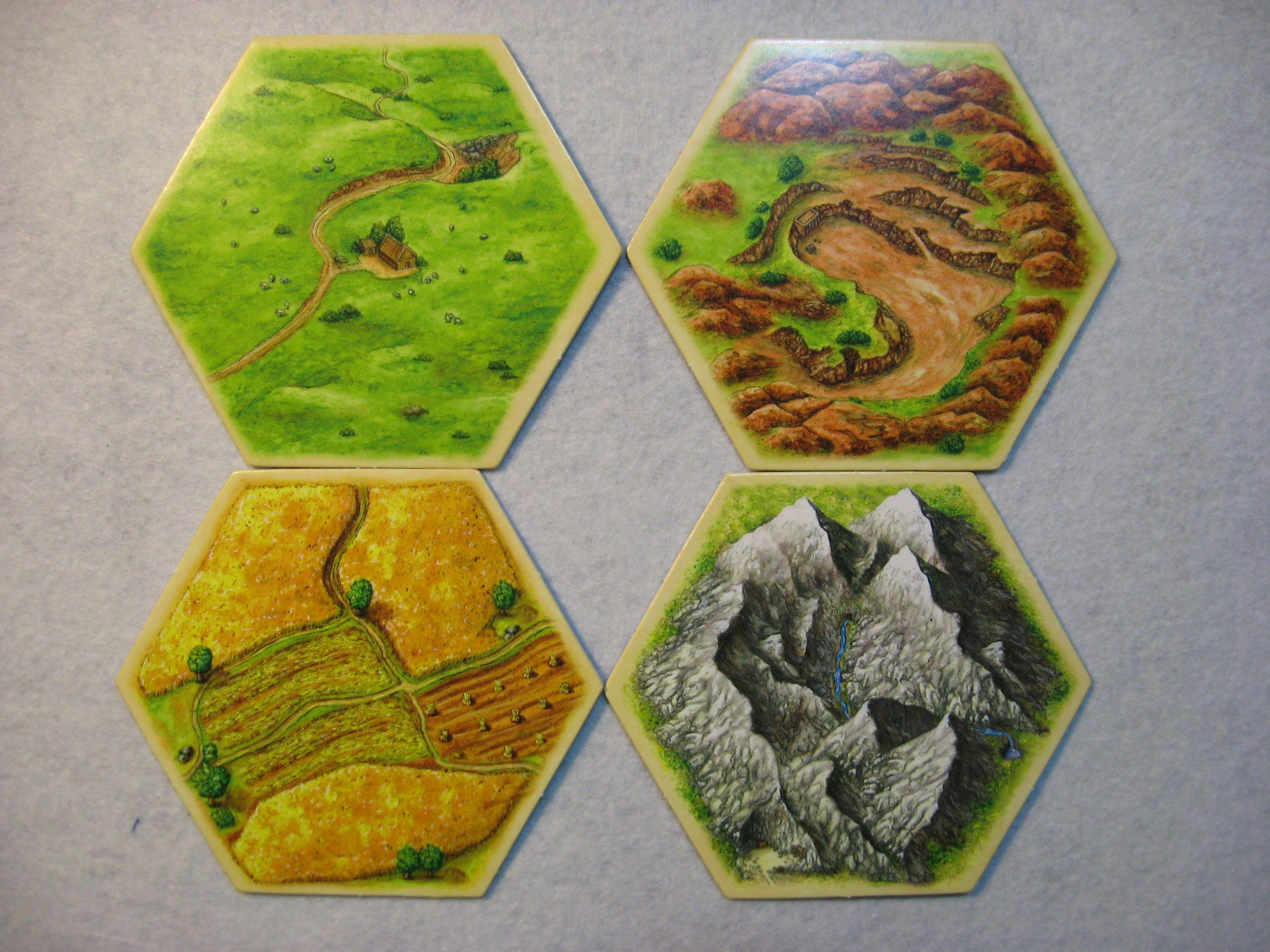 hex tile board game design hexagon tiles