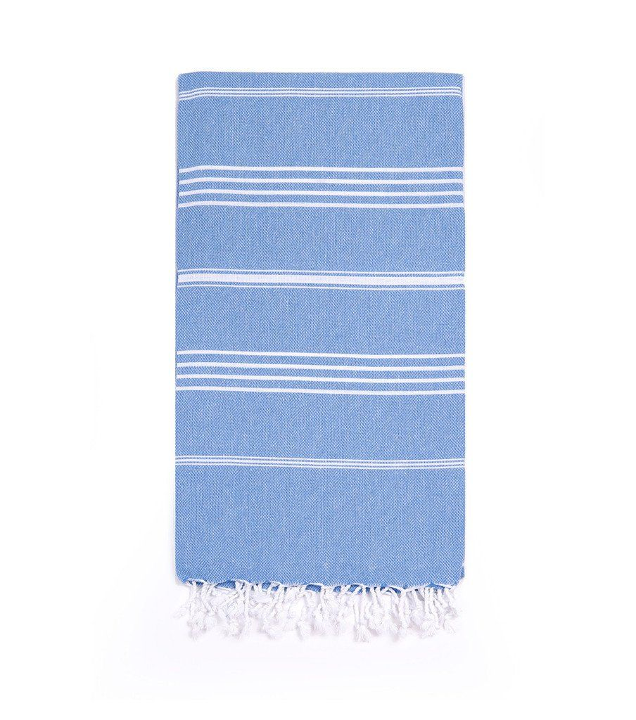 Turkish Towels, Blue Towels