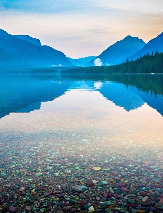 The Most Beautiful Lakes In The US Lake Mcdonald Montana - 9 most beautiful lakes in australia