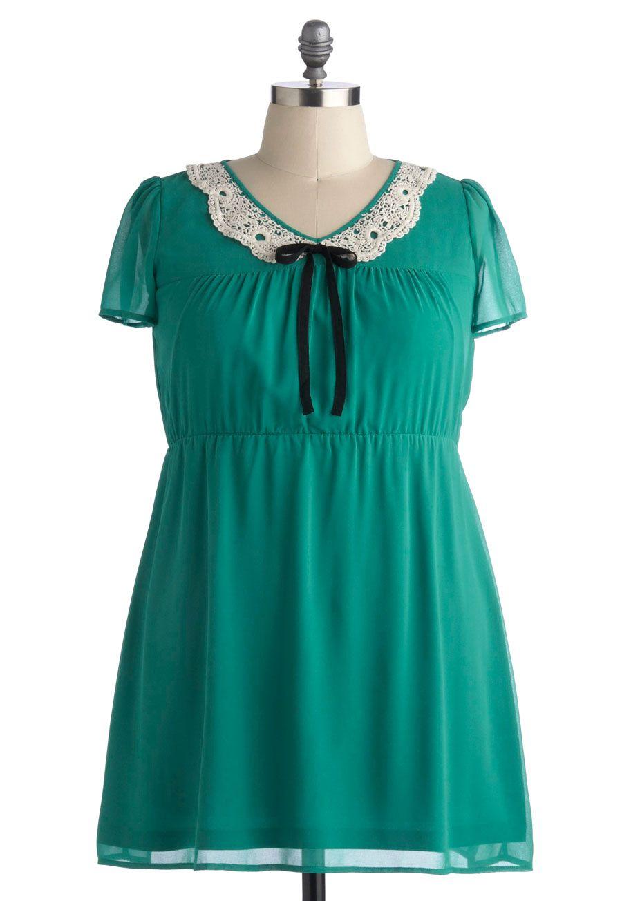 Emerging Poetess Dress in Plus Size | Mod Retro Vintage Dresses | ModCloth.com