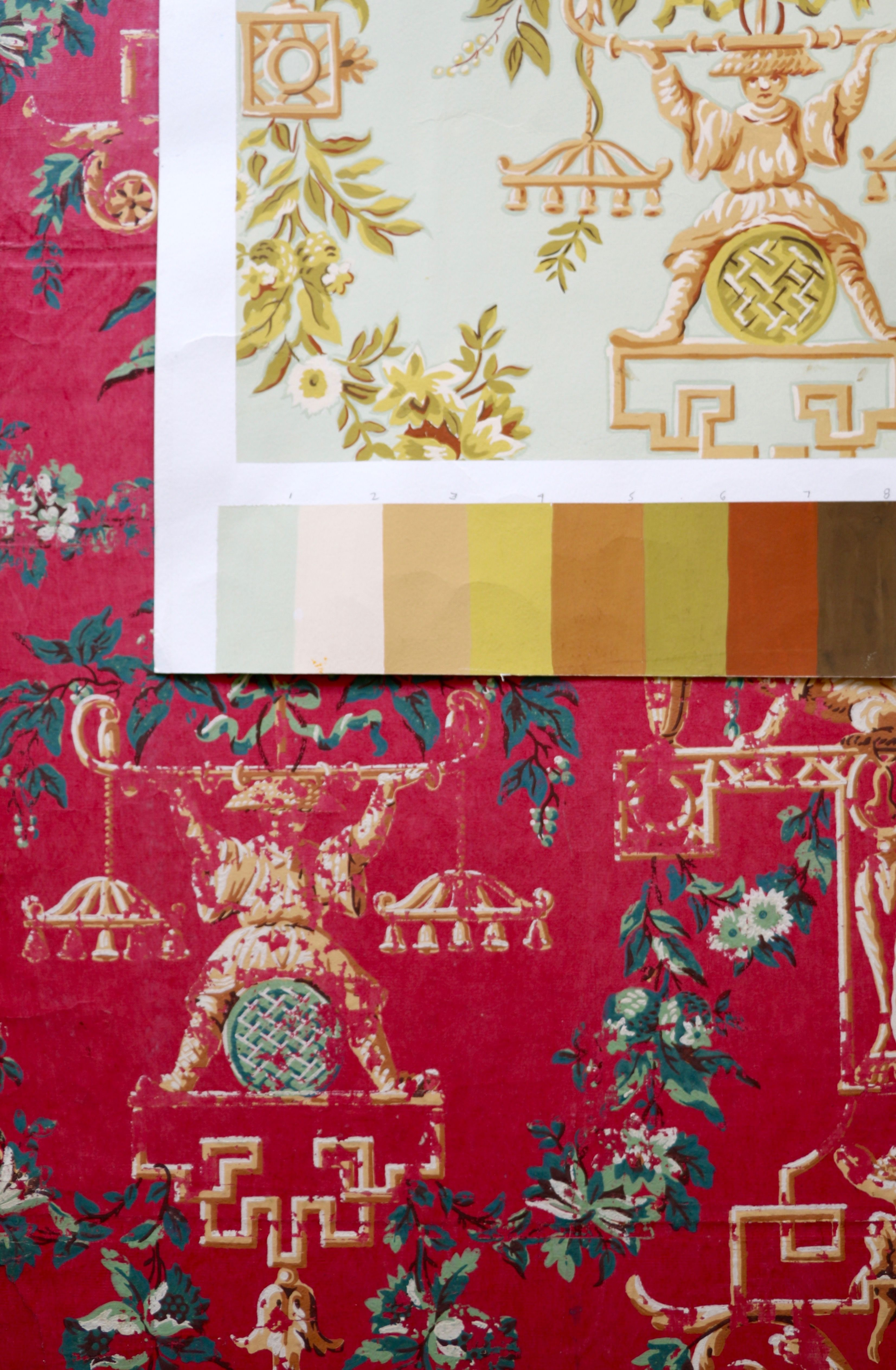 Heritage First Wallpaper Collection From Le Manach By La Maison