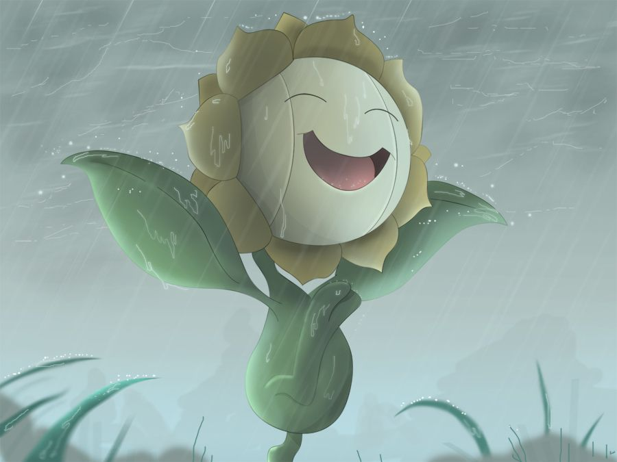 Sunflora Drawn By All0412 I Love The Joy Sunflora Shows To Be In The