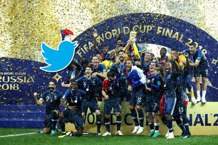Twitter Has Recorded A Whopping 115 Billion Impressions During The Month Long Fifa World Cup 2018 That Concluded In Russia Last Su World Cup World Cup 2018 Cup