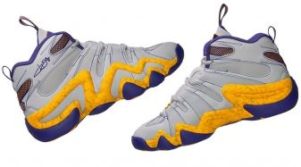 online store 6d0f5 4a885 Jeremy Lin Brings Laker Colors Back to the adidas Crazy 8
