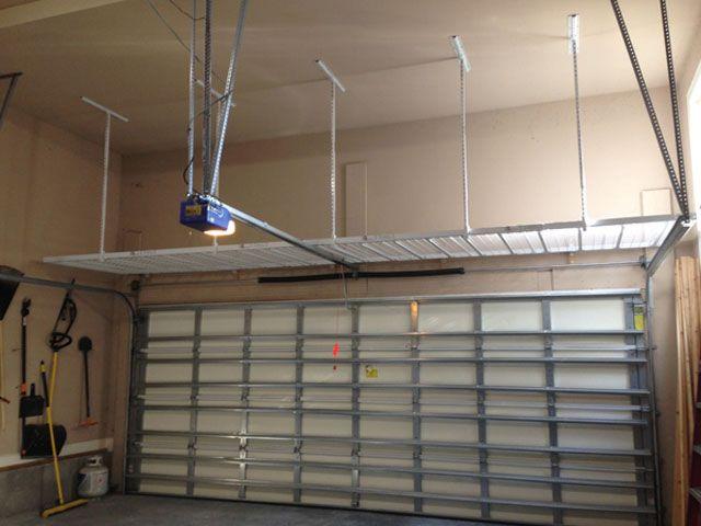 Storage Above Garage Door Garage Storage Garage