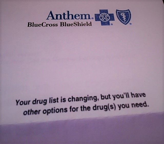 Received An Upsetting Letter Today From My Health Insurance