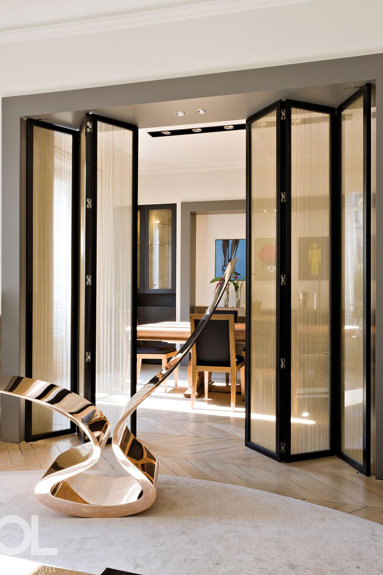 Decouvrez Helene Et Olivier Lempereur Design Renovation Paris Deco Doors Interior Room Partition Designs House Design