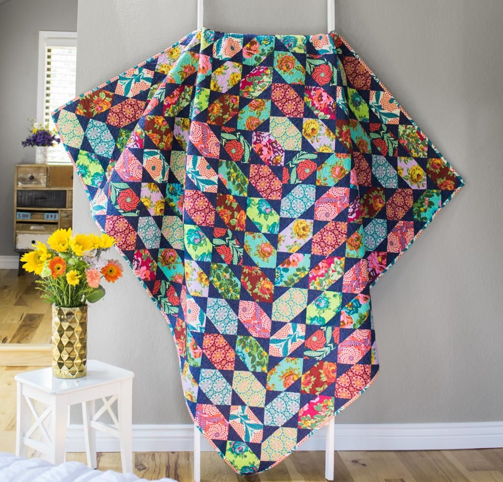 Garden Bejeweled Quilt Kit | Eternal sunshine, Amy butler and Fabrics : amy butler quilt kits - Adamdwight.com