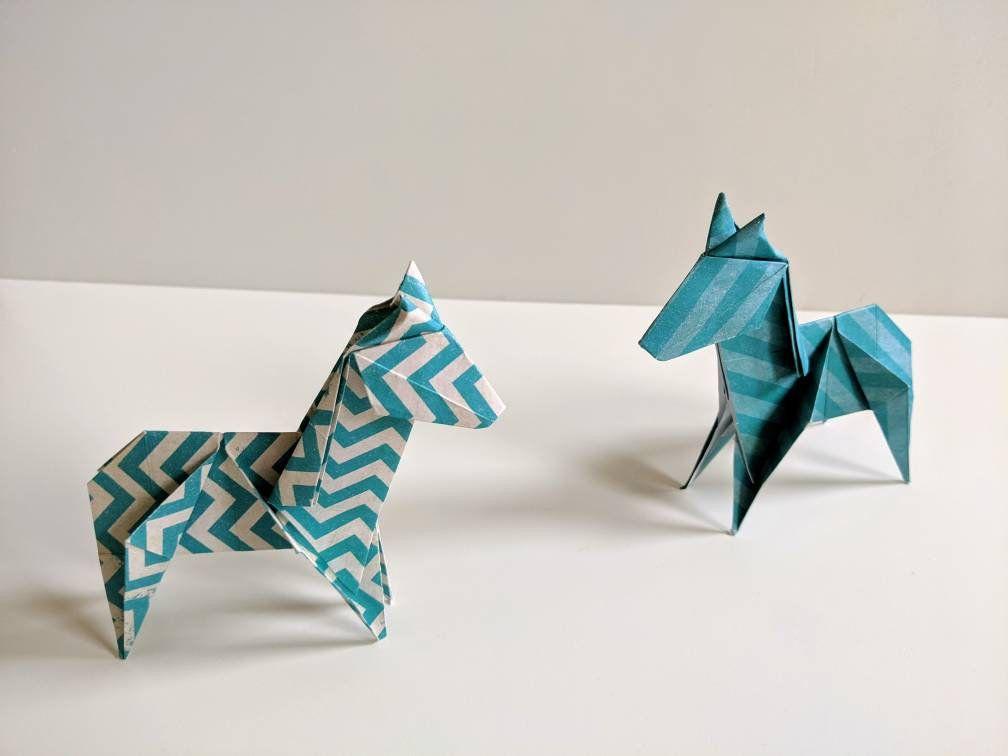 Origami Zebra
