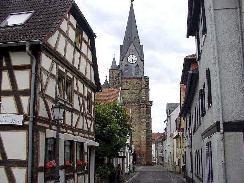 Stadt Kirche, Friedberg/Hessen