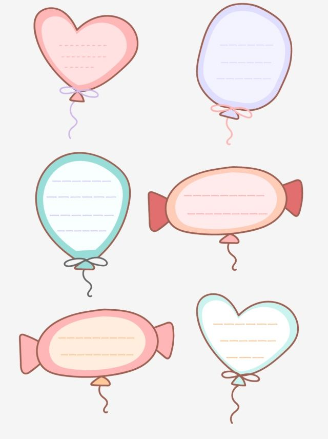 Cartoon Border Conversation Box Heart Shaped Candy Element Cartoon Frame Lovely Png And Vector With Transparent Background For Free Download Heart Shaped Candy Page Borders Design Cute Doodles