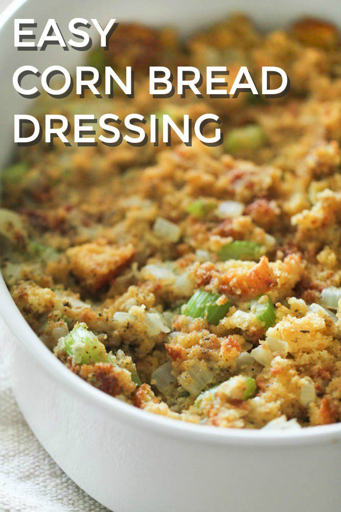 Homemade Cornbread Dressing