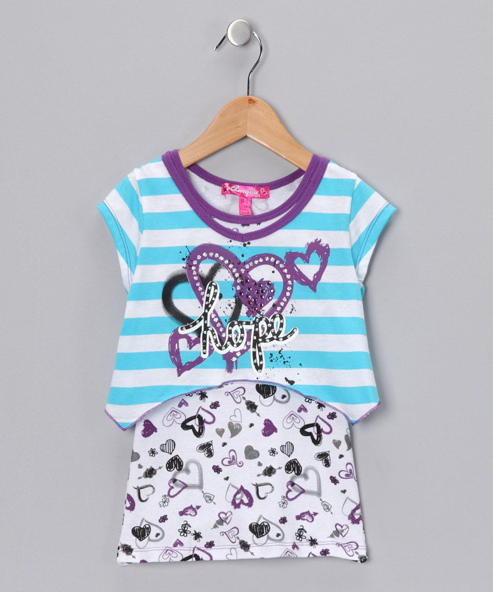 $9.99 Cute Top for Girls  by Cherry Stix