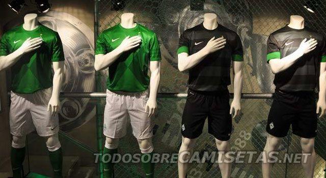 Werder Bremen Nike Trikots 2012/2013