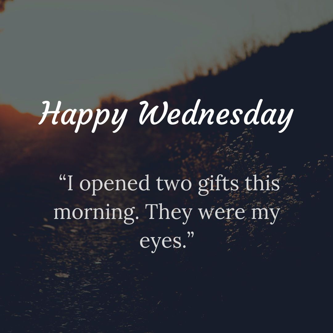 Happy wednesday! I opened two gift this morning | Happy ...