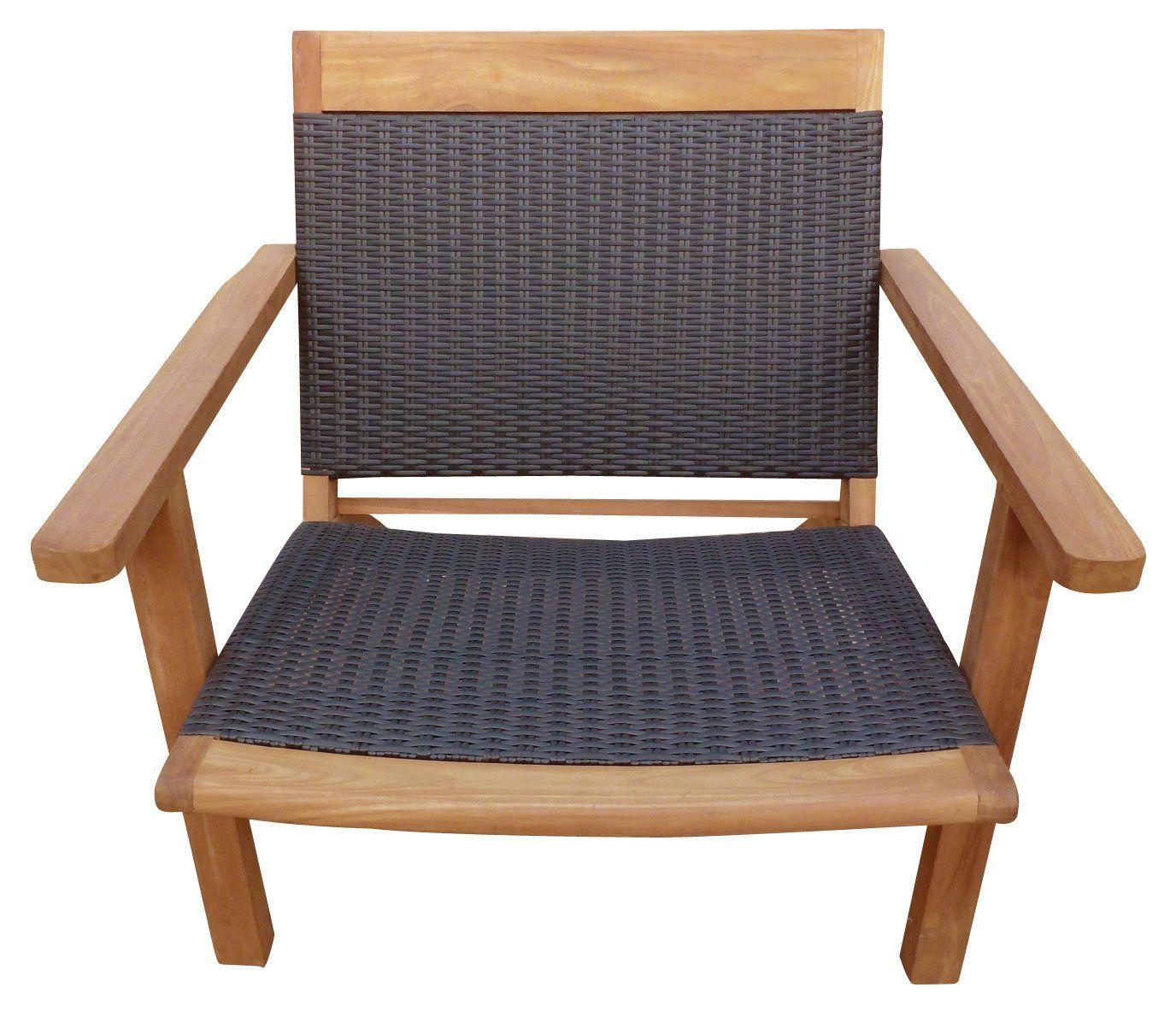Teak Wood Barcelona Patio Lounge And