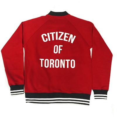 Citizen of Toronto Varsity Jacket (Red) - Teedot Apparel e19b51602