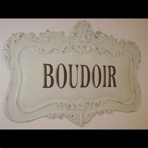 Amazing French Shabby Chic Boudoir Bedroom Wall Plaque # Pinterest++ For IPad #