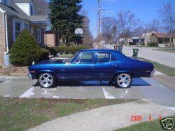 68 Chevy Nova II...sittin' in the driveway!