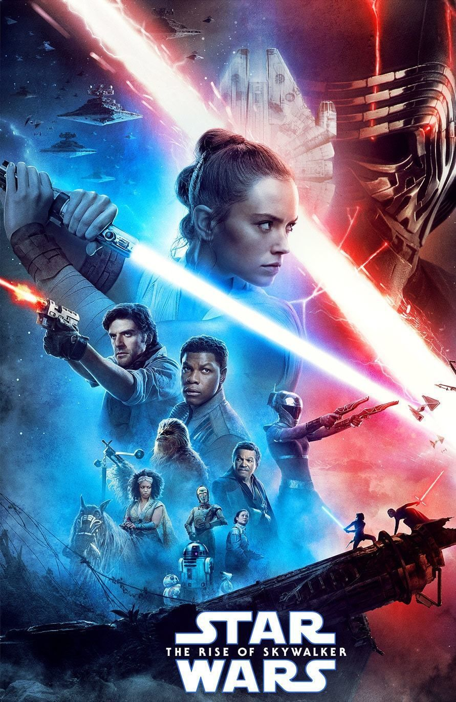 Star Wars: The Rise of Skywalker Directed by J. With Carrie Fisher, Mark Hamill, Adam Driver, Daisy Ridley. The surviving Resistance faces the First Order once more in the final chapter of the Skywalker saga.