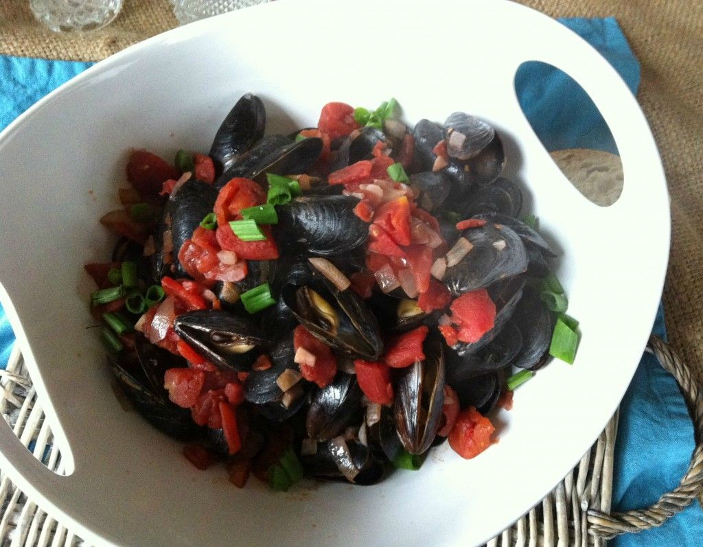 Mussels With Smoked Spanish Paprika Mussels Paprika Recipes Food