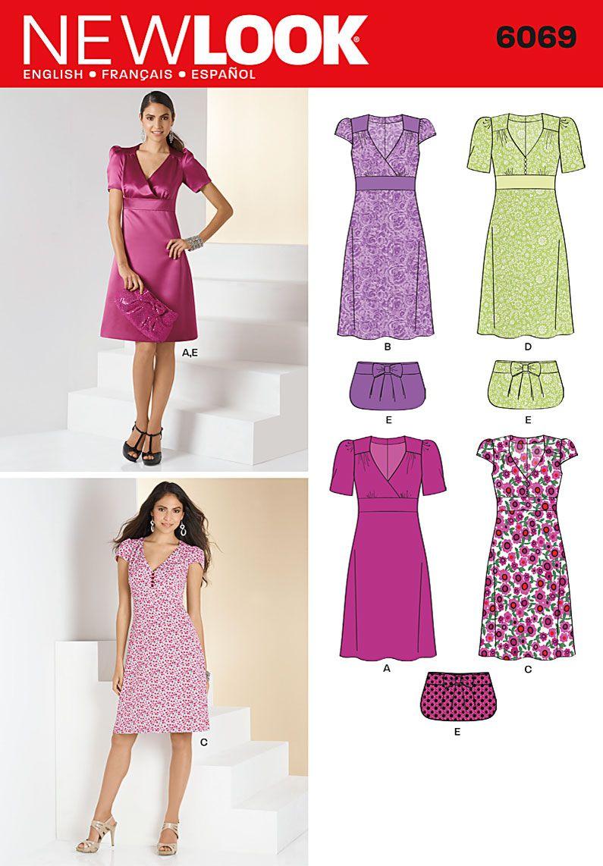 Simplicity Creative Group - Misses\' Dresses | para coser | Pinterest ...