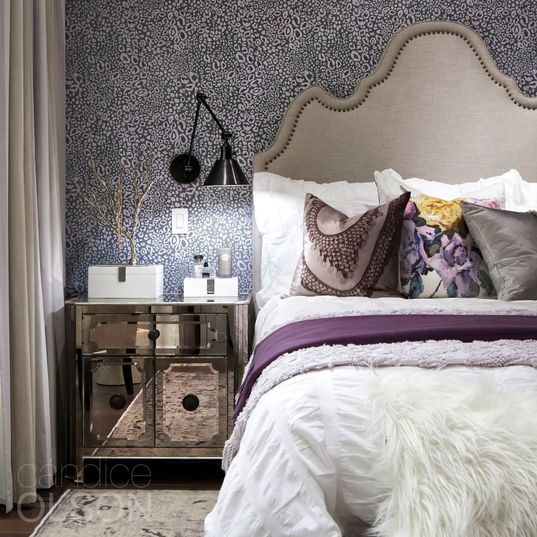 "Candice Olson on Instagram ""Task lighting in the bedroom"