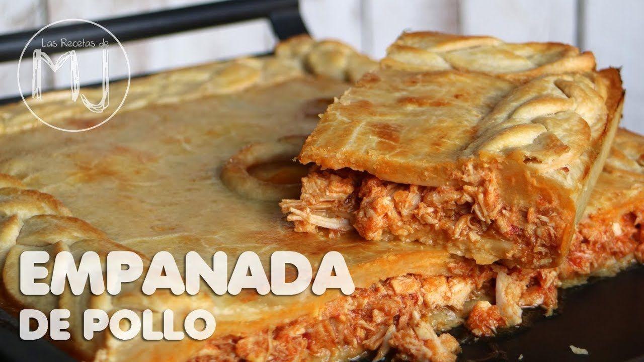Cocinatelo Youtube Empanada De Pollo Recetas De Comida Fáciles Receta De Empanadas