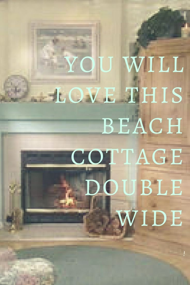 Beach Style Double Wide Decorating Ideas In 2018 Home Decor Pinterest Tiny Houses And