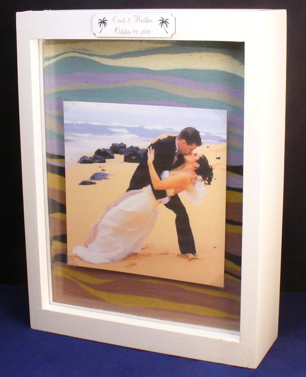 Forever Frame Shadow Box Unity Sand Frame Wedding Decor Unity