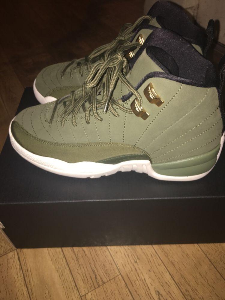 9231e3163d3 jordan 12 olive size 5 #fashion #clothing #shoes #accessories #mensshoes # athleticshoes (ebay link)