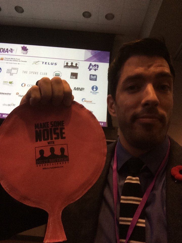 @mrsilverscott and I had a blast talking #TV and social media during the nextMEDIA Events panel along with Corus Entertainment and Twitter Canada :) #nextMEDIA2014