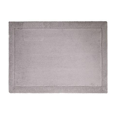 Microdry Memory Foam 17 Inch X 24 Inch Bath Rug With Griptex