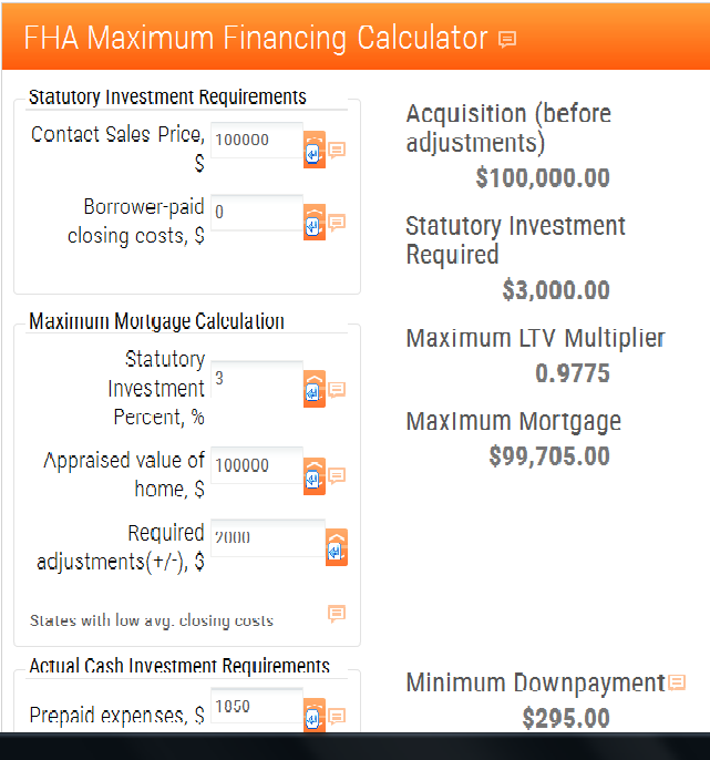 fha mortgage loan calculator how much can i afford mortgage