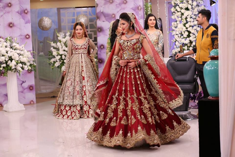 Latest Asian Bridal Wedding Gowns Designs 2018-2019