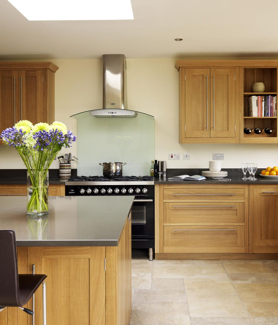 Oak Shaker Kitchen Harvey Jones Modern Oak Kitchen New Kitchen Cabinets Kitchen Decor