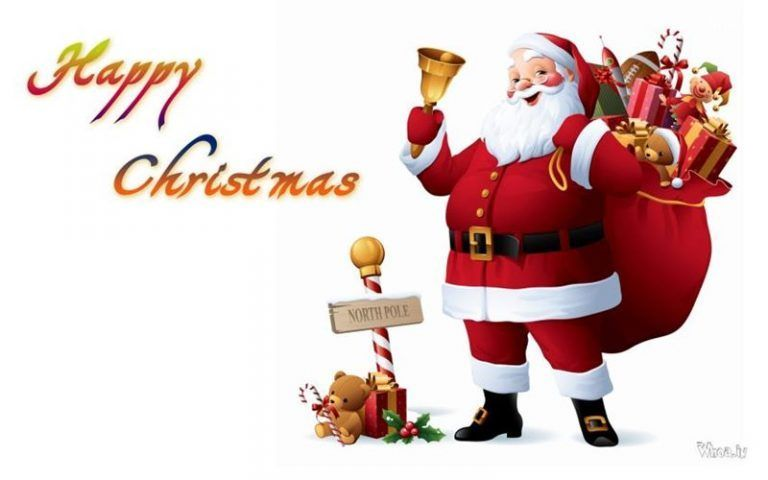99 Awesome Happy Christmas Wishes And Messages 9 Happy Christmas Day Santa Claus Images Merry Christmas Images Christmas wallpaper full screen santa