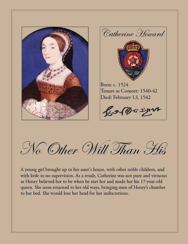 Catherine Howard | Catherine Howard | The Tudor Blog