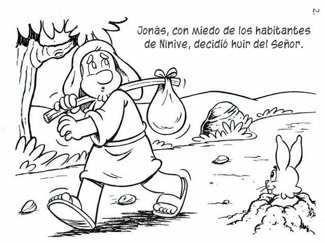 Jonás huye de Dios | Biblica | Pinterest | Sunday school projects ...