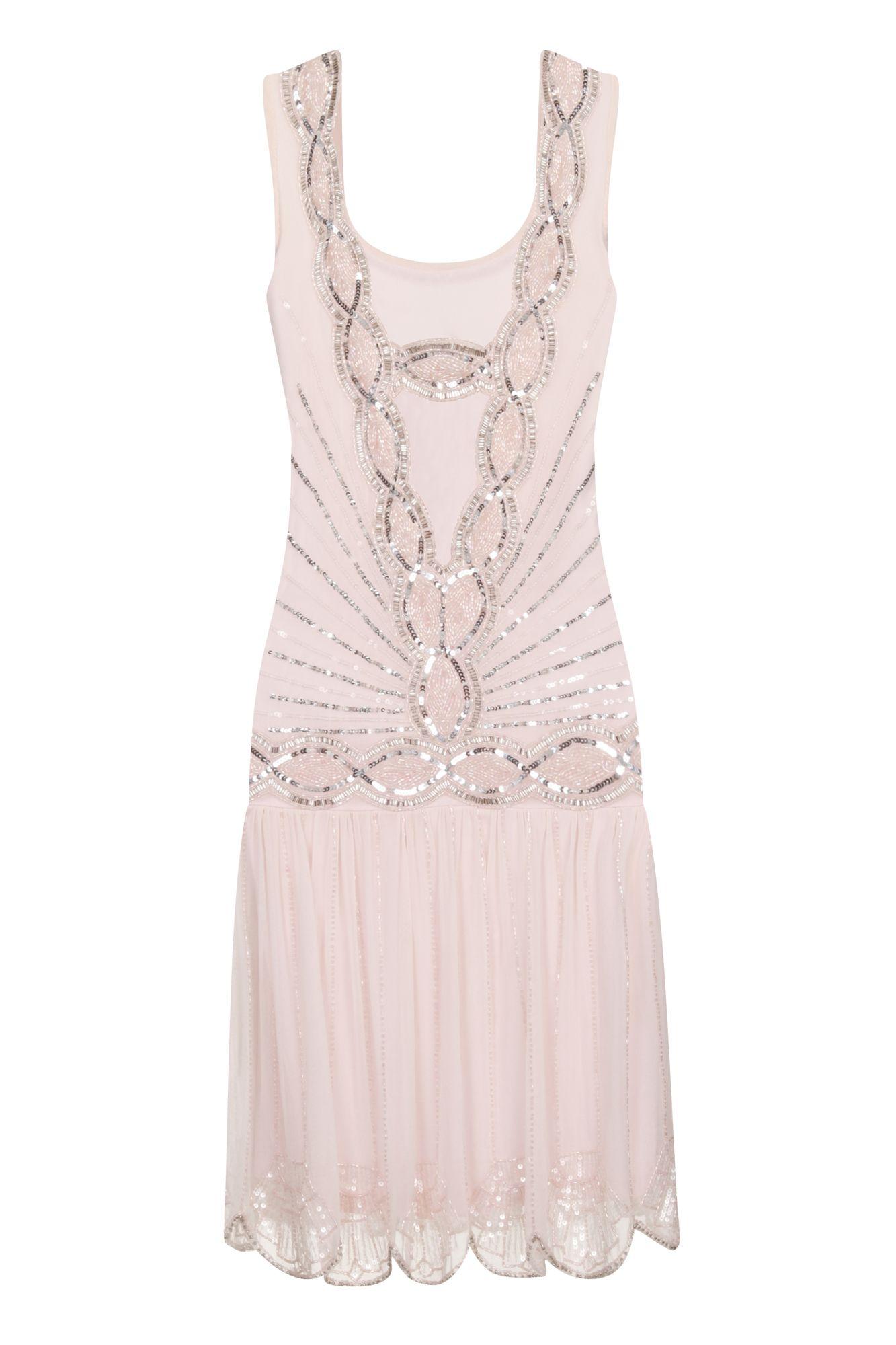 Zelda wedding dress  Zelda Flapper Dress Pale Pink  Dresses  Clothing  Dresses