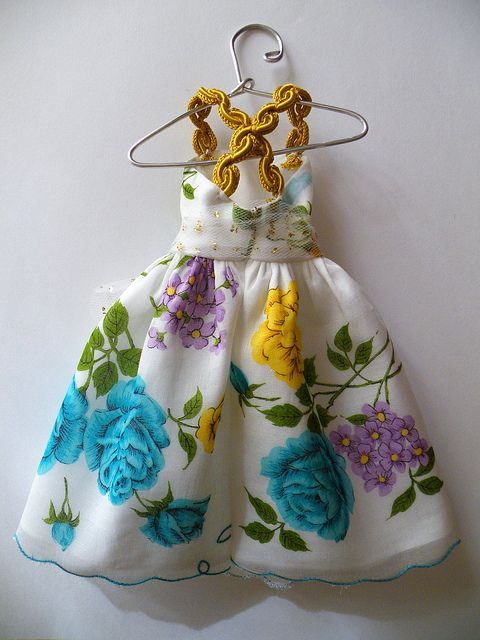 Hankie Couture #3 (Back) by beebers31, via Flickr