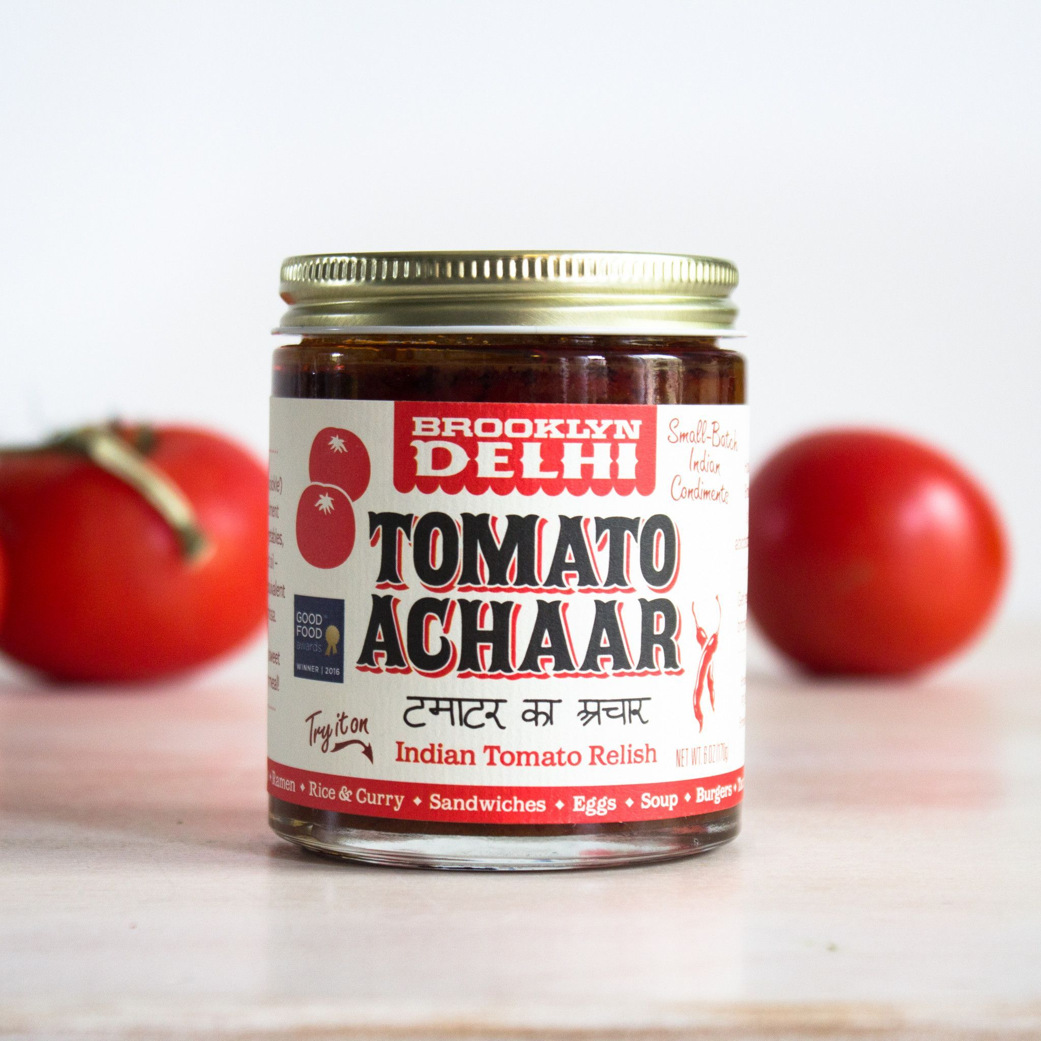 Tomato Achaar by Brooklyn Delhi Tomato relish, Spicy